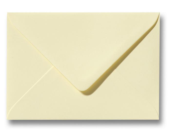 A6 Envelop Zachtgeel 11x15,6 cm