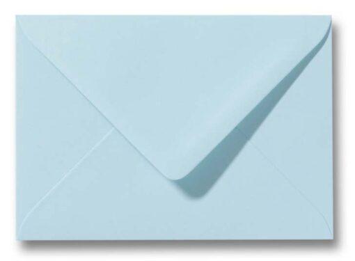 A6 Envelop Lagune blauw 11x156