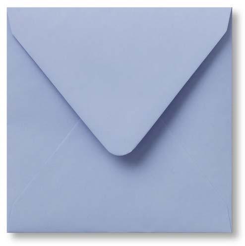 Envelop Baby blauw 12x12cm