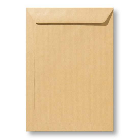 Kraft enveloppen licht bruin A4