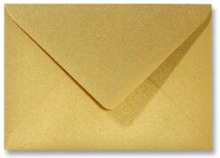 A6 envelop Metallic Goud 11x15,6cm