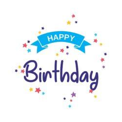 Sluitzegel Happy Birthday