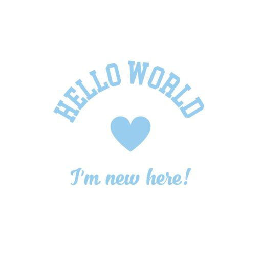 Sluitzegel Hello World Jongen