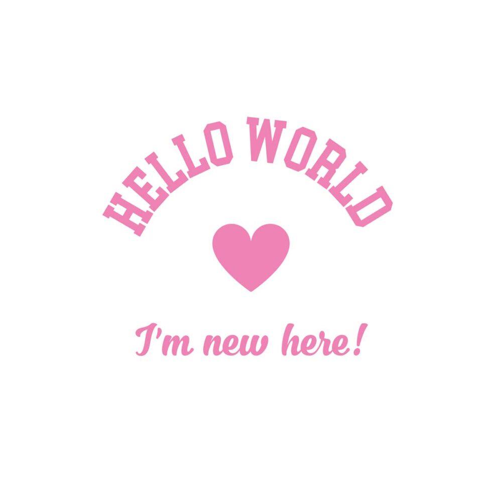 Sluitzegel Hello World Meisje