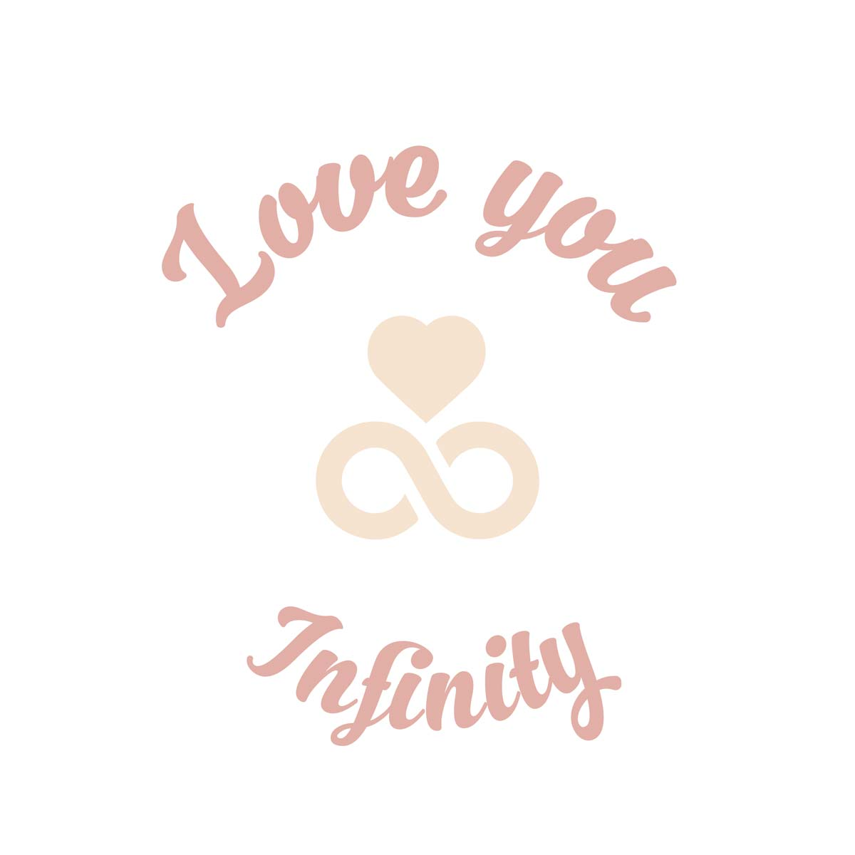 Sluitzegel Love you infinity