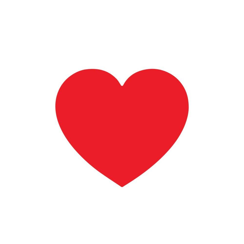 Sluitzegel Rood hartje