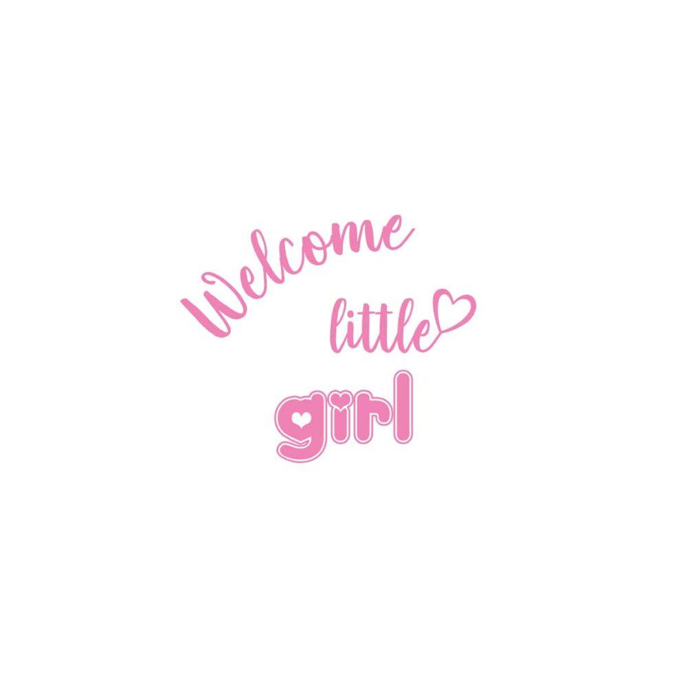 Sluitzegel Welcome little girl