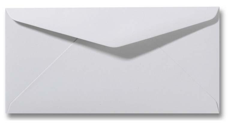 DL envelop 11x22 cm Zilvergrijs