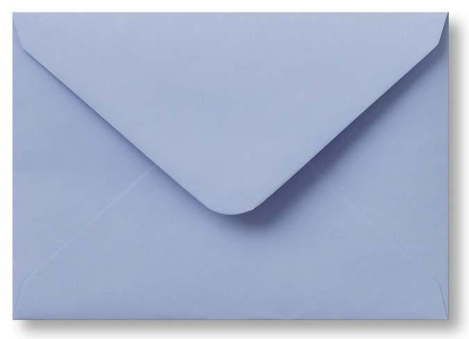 Envelop Babyblauw 12x18 cm
